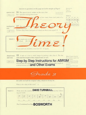 Theory Time Grade 3: Workbook (turnball)