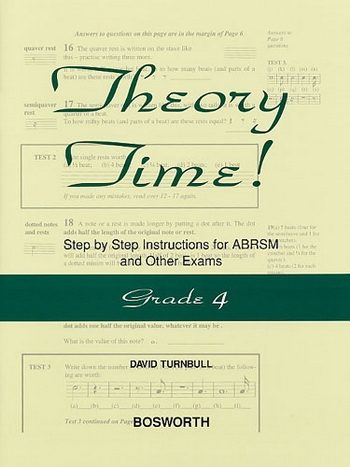 Theory Time Grade 4 Workbook (turnball)