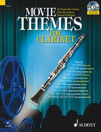 Movie Themes: Clarinet: Clarinet: Book & CD