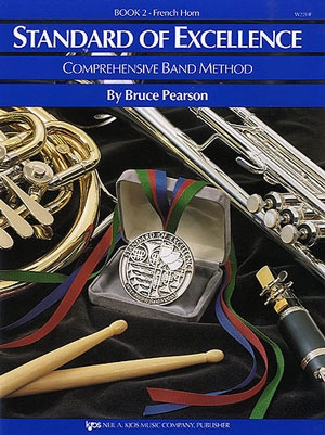 Standard Of Excellence: Comprehensive Band Method Book 2 French Horn