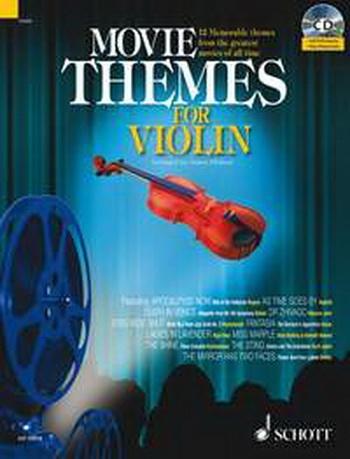 Movie Themes: Violin: Schott Master Play Along Series