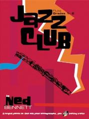 Jazz Club: Grade 1-2: Flute: Book & CD