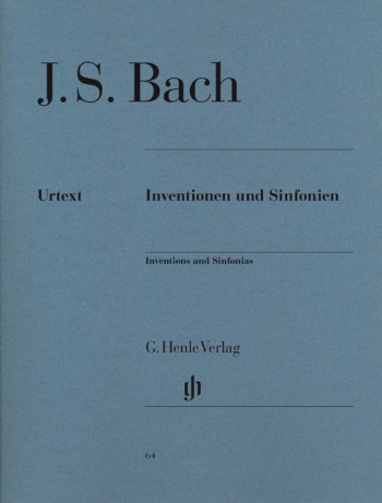 Inventions & Sinfonia: Piano (Henle)