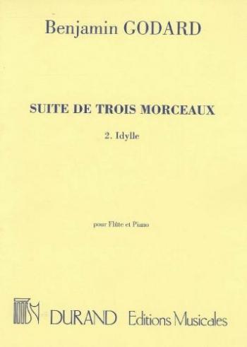 Suite De Trois Morceaux: No2: Idylle: Flute & Piano (Durand)