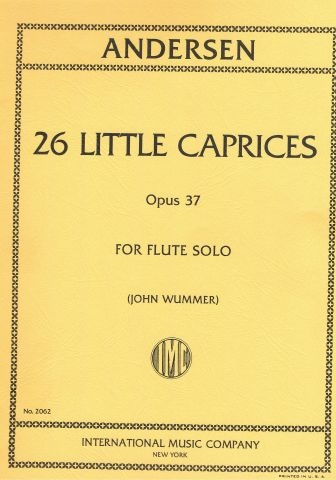 26 Little Caprices: Op37: Flute  (International)