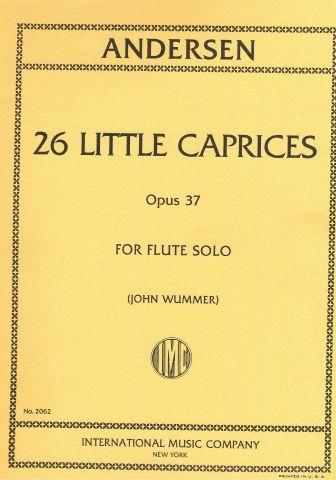 26 Little Caprices: Op37: Flute  (International)