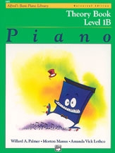 Alfreds Basic Piano Course: Universal Edition Theory Book 1B