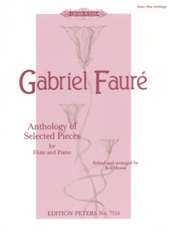Anthology Of Selected Pieces: Flute and Piano (Peters)