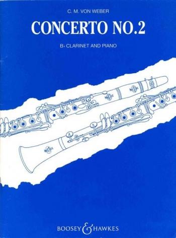 Clarinet Concerto Eb Major No 2 Op74: Clarinet & Piano (Boosey & Hawkes)