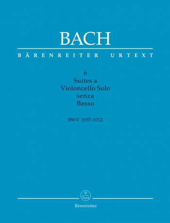 6 Cello Suites Bwv1007-1012: Cello Solo: Original: Box Set (Barenreiter)