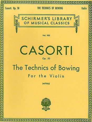 Bowing Exercises Op50: Violin: Solo