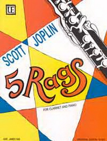 5 Scott Joplin Rags: Clarinet & Piano