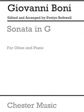 Sonata In G: Oboe & Piano (Chester)