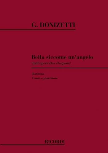 Bella Siccome Un Angelo: Baritone: Db Maj: Vocal: Solo Song