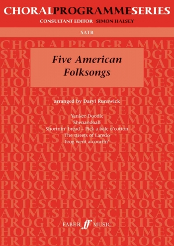 Five American Folksongs: Vocal Satb