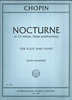 Nocturne C# Minor Posth: Flute & Piano (International)
