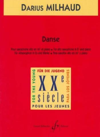 Danse: Alto Sax & Piano (Billaudot)
