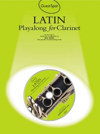 Guest Spot: Latin: Clarinet: Book & CD