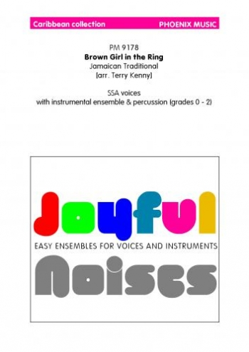 Ens/joyn/brown Girl In The Ring/caribbean Collection/voice and Instruments/scandpts