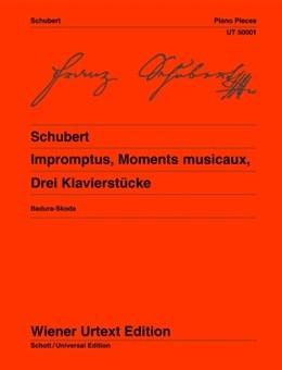 Impromptus Moments Musicaux: Piano (Wiener Urtext)