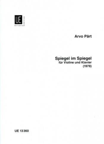 Spiegel Im Spiegel: Violin & Piano (1978)