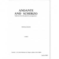 Andante and Scherzo: Treble Clef Or Bass Clef: Euphonium
