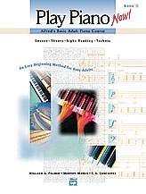 Alfred Play Piano Now: Book 1: Bk&cd