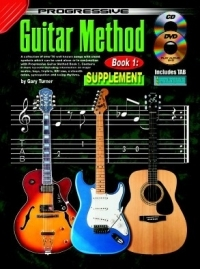 Progressive 1 Guitar Method Supplement Songbook
