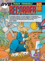 10 Easy Recorder Lessons Teach Yourself Young Beginner: Book & CD & DVD