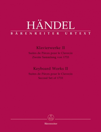 Keyboard Works II Suites De Pieces Pour Le Clavecin Second Set 1733:  Piano  (Barenreiter)