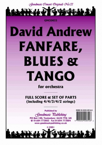Orch/andrew/fanfare Blues and Tango/orchestra/scandpts
