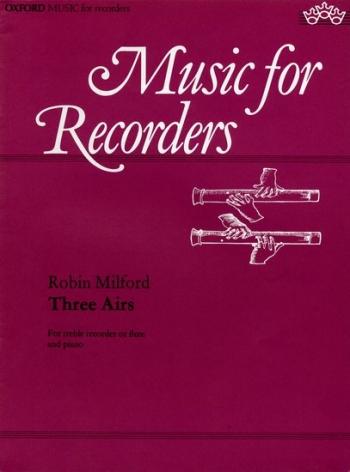 3 Airs: Treble Recorder