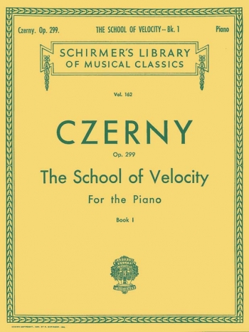 School Of Velocity Op.299: 1: Album (Schirmer)