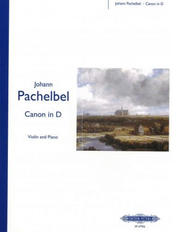 Canon In D: Violin and Piano (Peters)