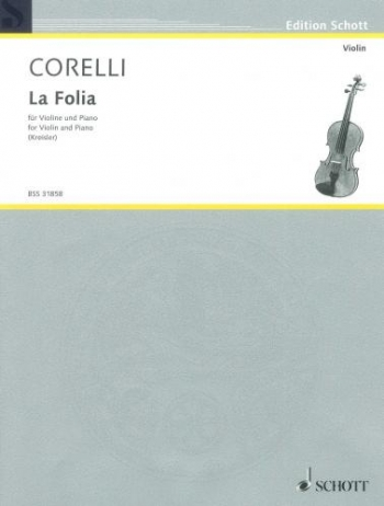 La Folia: Op5: 12: Violin and Piano