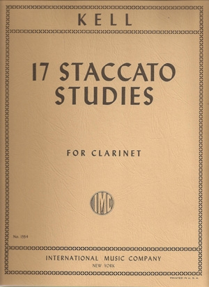 17 Staccato Studies: Clarinet (International)