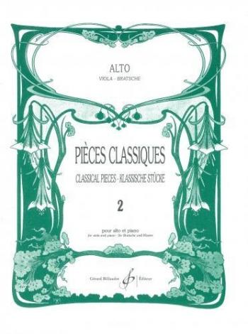 Pieces Classiques: 2: Viola & Piano (Billaudot)