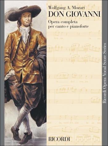 Don Giovanni: Vocal Score (Ricordi)