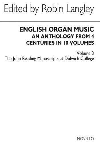 English Organ Music: 3