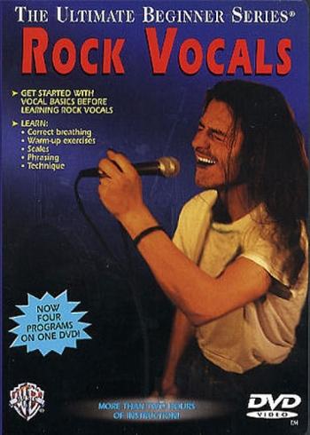 Ultimate Beginner Series Rock Vocals: DVD