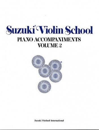 Suzuki Violin School Vol. 2 Violin Piano Accompaniment (Revised)