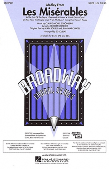 Les Miserables Medley: Vocal: Satb (schonberg)