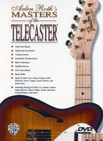 Arlen Roths Masters Of The Telecaster: Guitar: DVD
