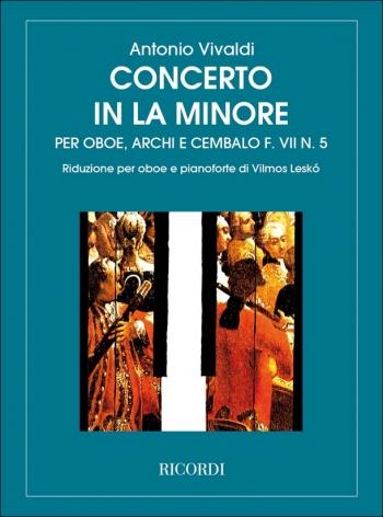 Concerto: A Minor: Oboe & Piano