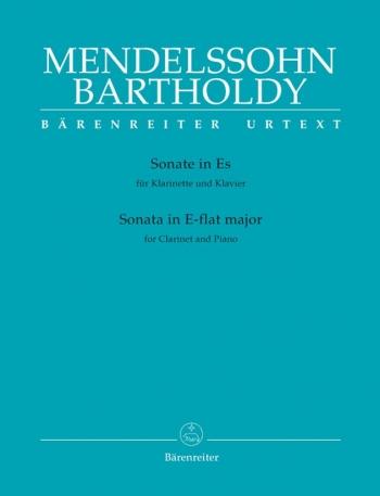 Sonata In Eb: Clarinet & Piano (Barenreiter)