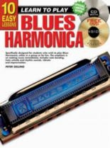 10 Easy Blues Harmonica Lessons Teach Yourself: Book & CD & DVD