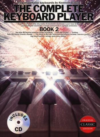 Complete Keyboard Player: Book 2: Original: Book And Cd