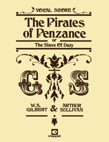Pirates Of Penzance: Vocal Score: Satb
