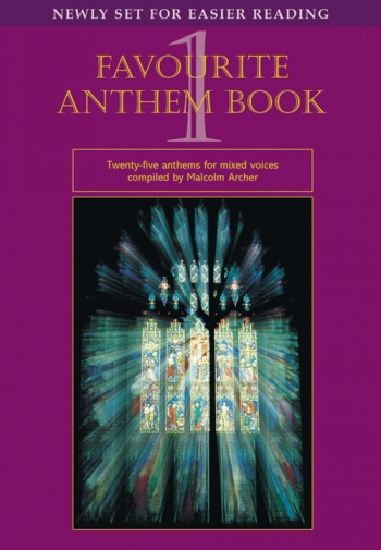 Favourite Anthem Book 1: Vocal: Satb