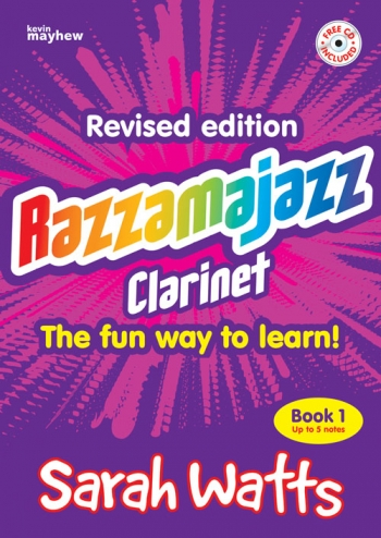 Razzamajazz Clarinet: Book & CD  (watts)